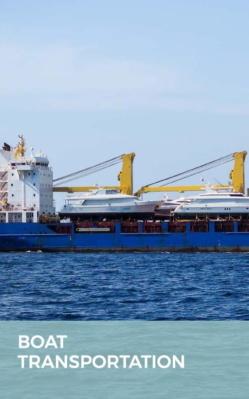 GAC Pindar - Boat transport