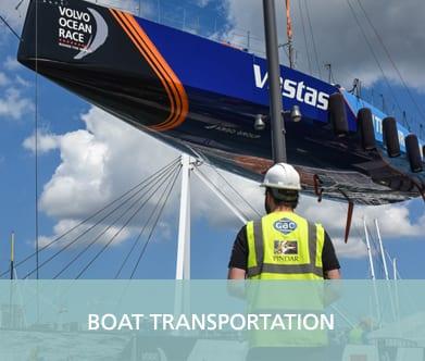 GAC Pindar - Boat transportation