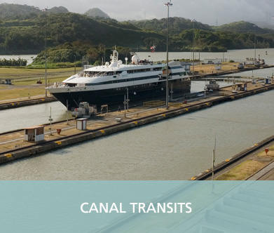 GAC Pindar - Canal transits