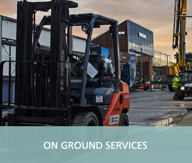 GAC Pindar - On ground services