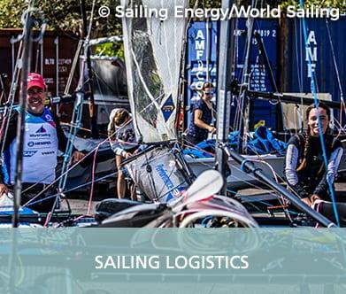 GAC Pindar - Sailing logistics