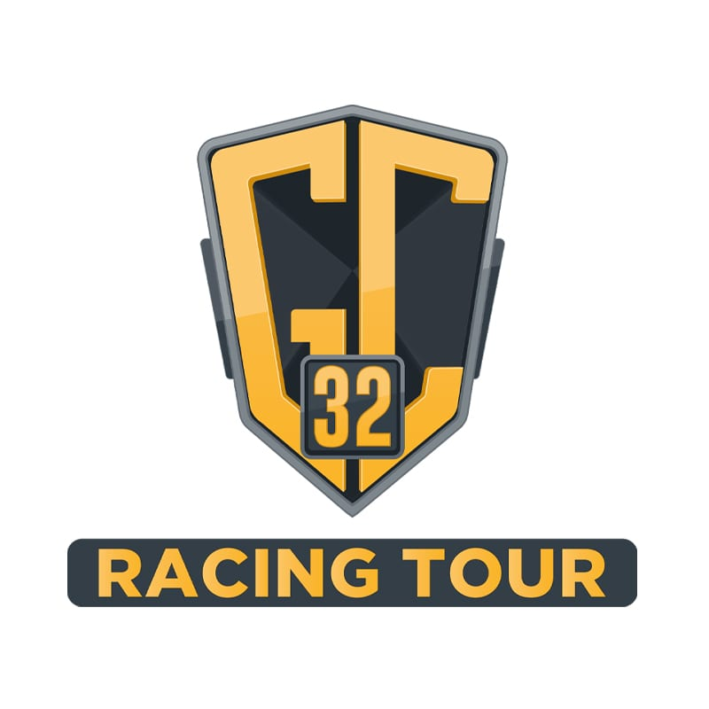 The Racing Tour Logo with link to external website