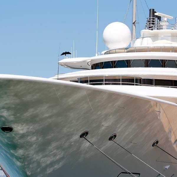 GAC Pindar - Expertise - Superyachts