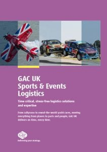 GAC Pindar Sports and Events Logistics - UK Brochure PDF