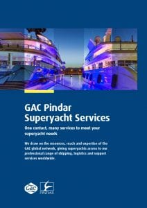 GAC Pindar Superyacht Services Brochure PDF