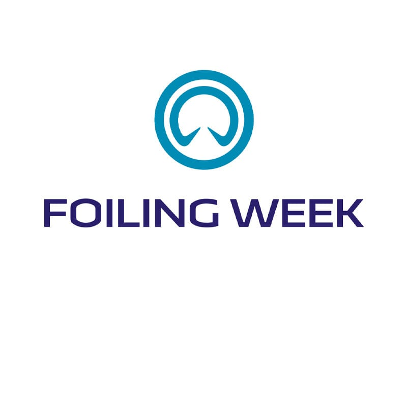 Foiling Week Logo with link to external website