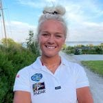 1 Klara Wester will skipper the all-female team in the GKSS Marstrand Match Cup this month